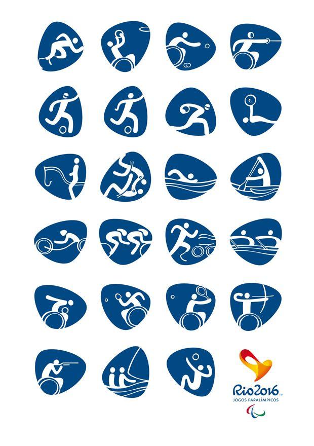 Pictogramas oficiales de los Juegos Olímpicos de Río 2016