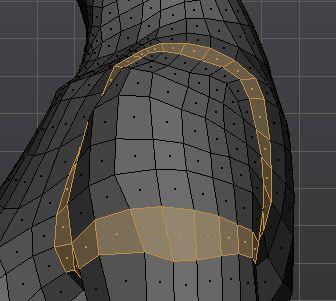Shoulder topology side