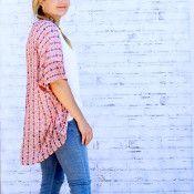 Elegant kimono with sleeves tutorial - Andrea's Notebook