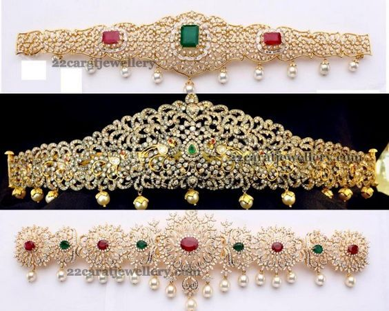 Types Of Vaddanam Designs - Jewellery Designs