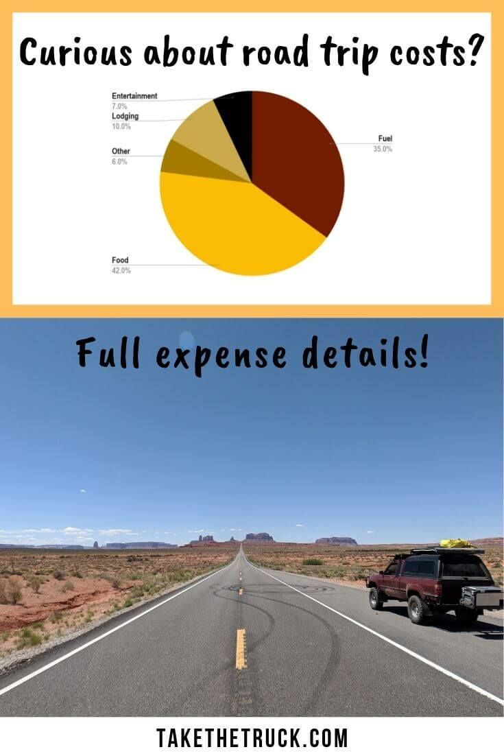 What A Cross Country Road Trip Costs Take The Truck Road Trip Fun Cross Country Road Trip Road Trip Usa