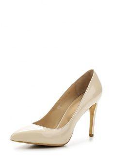 Туфли Calipso, цвет: бежевый. Артикул: CA549AWEWV71. Женская обувь / Туфли / Туфли на шпильке