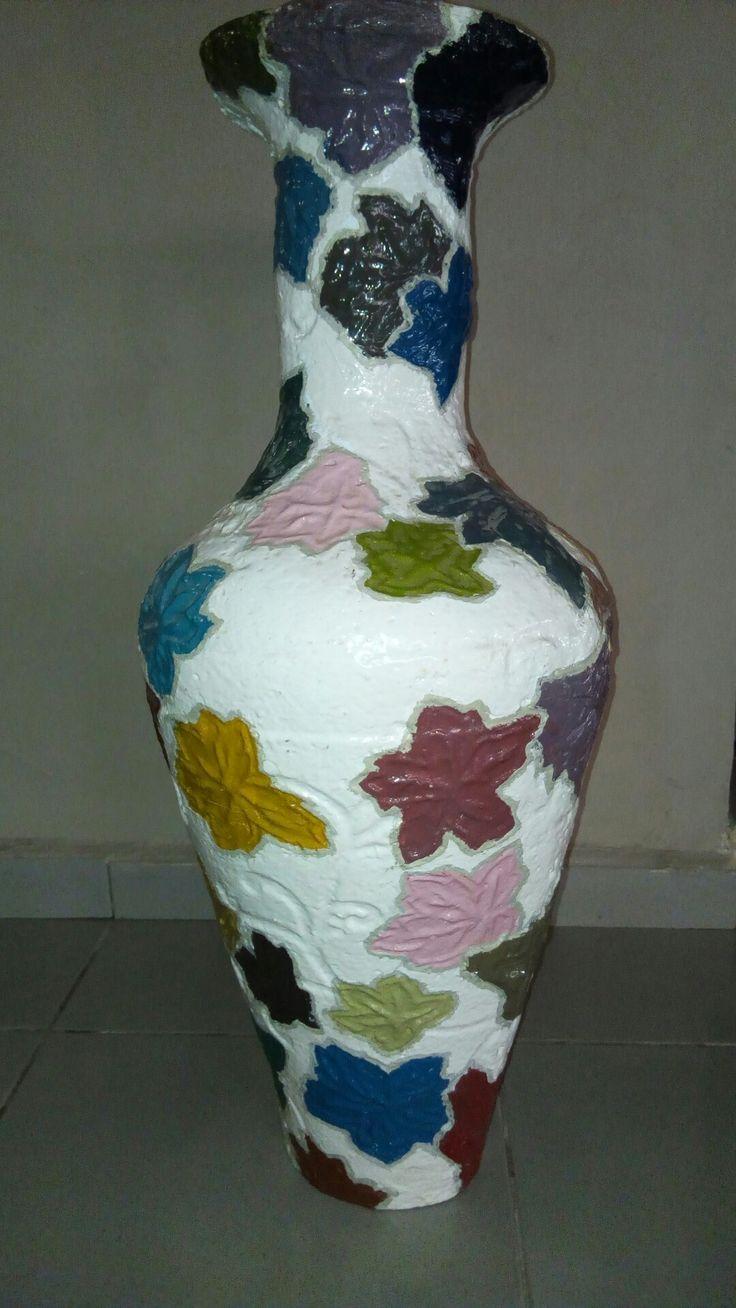 365 Flower Vase for interiors. Colourful at 350 Flower