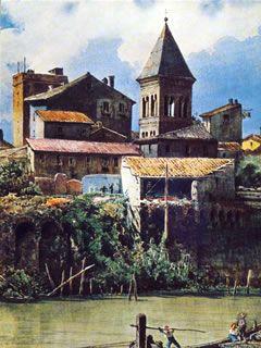 Case degli Anguillara - Ettore Roesler Franz