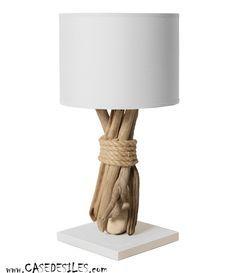 1000 id es propos de lampe de chevet sur pinterest for Table de nuit blanche pas cher