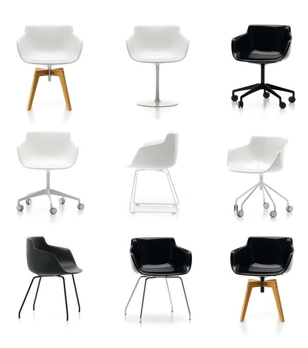 Familia Flow Armchair de MDF Italia. Design: J.M.Massaud.  #furniture