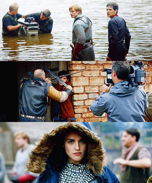 merlin behind the scenes