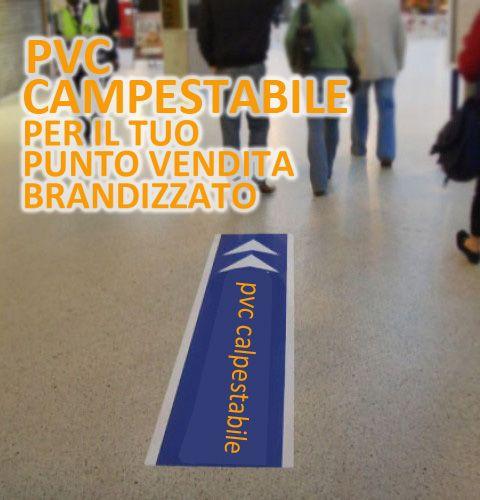 PVC calpestabile per il tuo punto vendita, una comunicazione sul pavimento!!!!