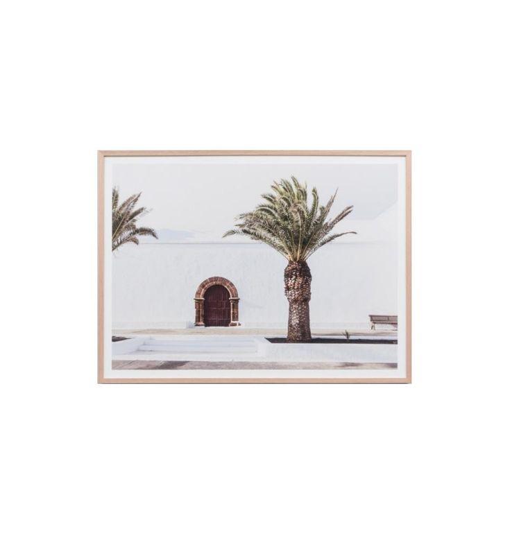 Spanish Door Framed Print