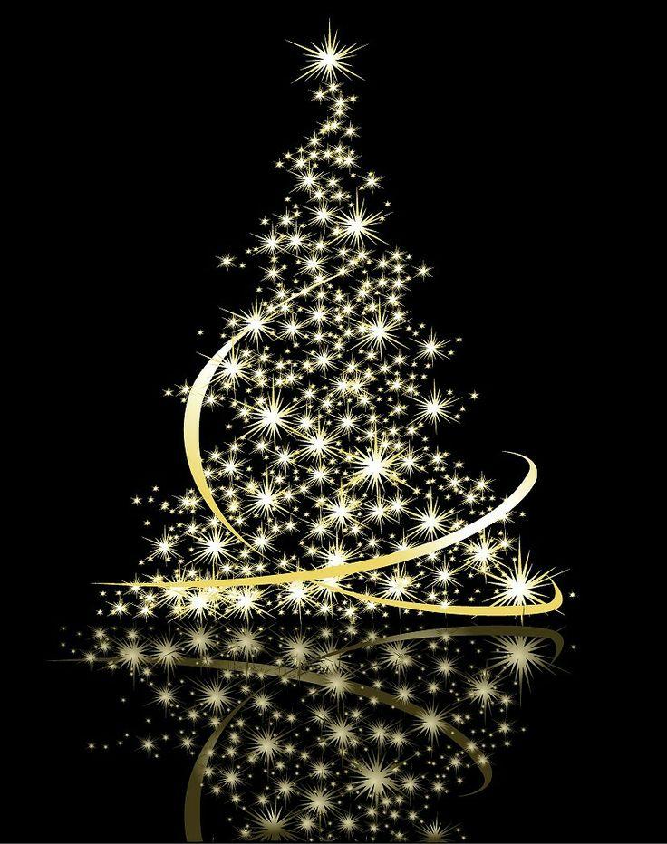 Чудо дети, светящиеся новогодняя открытка