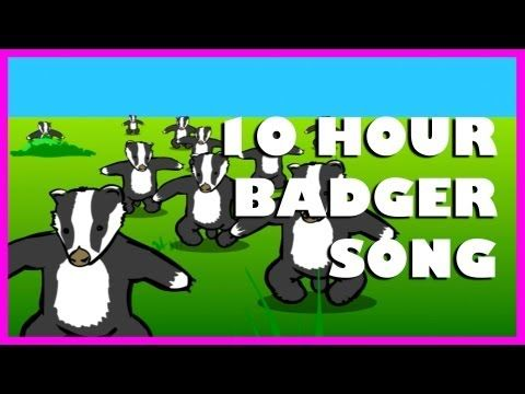 ▶ Badgers - Because it's so catchy and annoying and it sneaks up out of nowhere when you least expect it, invading your thoughts like a really bad trip.