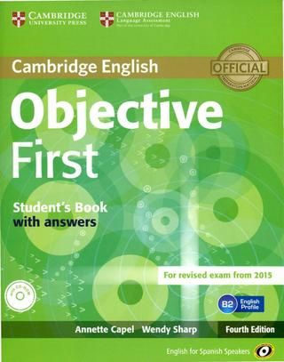 Objective first for revised exam from 2015 4th edition sb