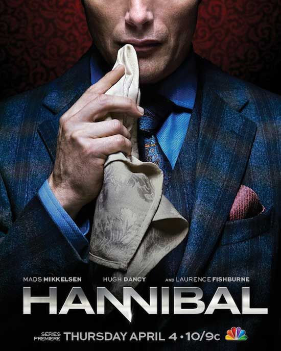 HANNIBAL- creepy, just started watching it