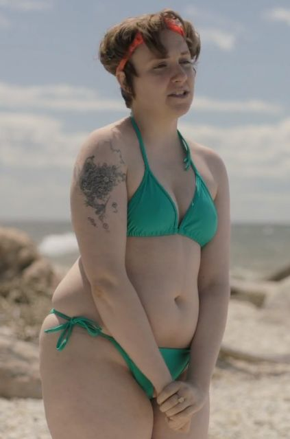Lena Dunham: The quintessential REAL girl. (and also creator, exec producer, writer, director, and actor of own show!)