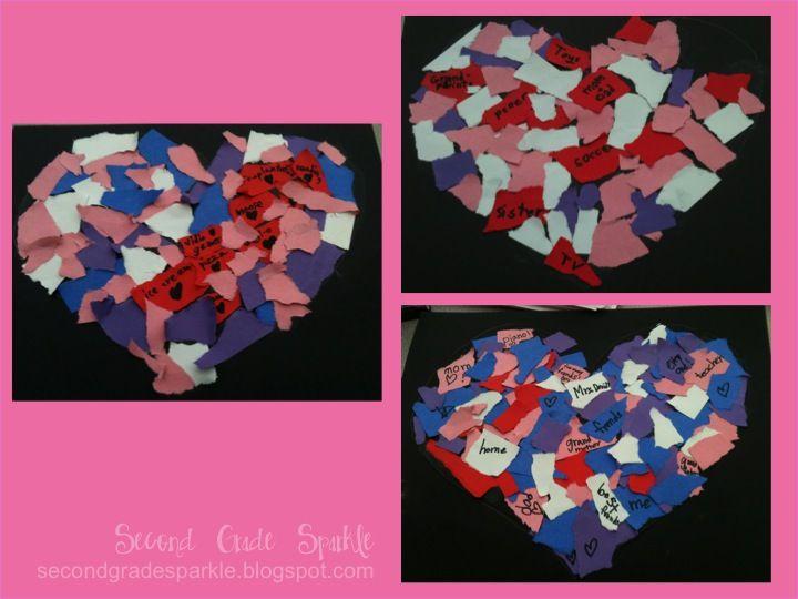 2nd Grade Valentine Crafts. best 25+ valentines art lessons ideas ...