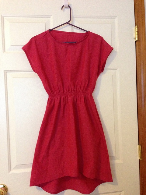 Staple Dress - drop hem, shot cotton | Flickr - Photo Sharing!