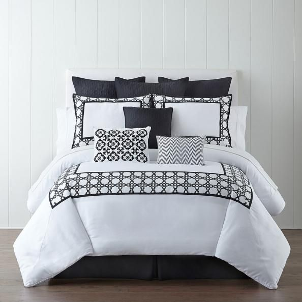 Shop Eva Longoria's super chic bedding collection for JCPenney.