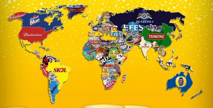 Logos Cervezas de Todo el Mundo | inkieto.com