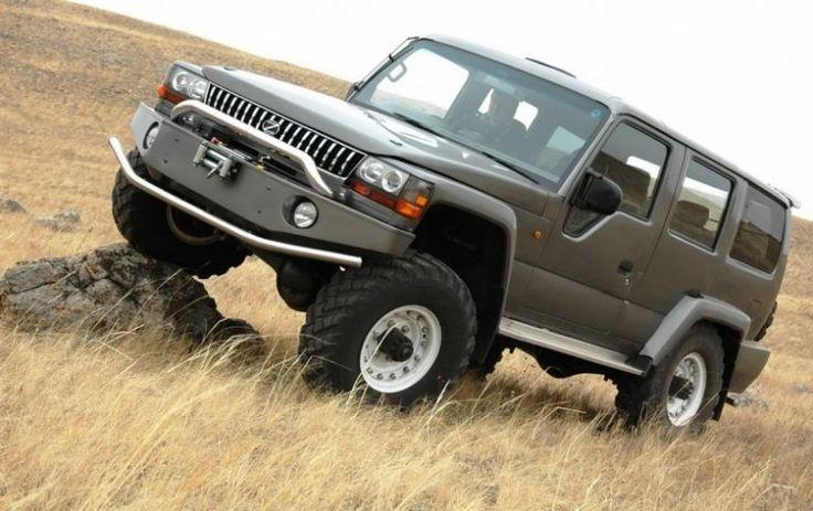 Mega Cruiser Russia   Azt kell mondjam, hogy nem csúnyább, mint egy Hummer, sőt.