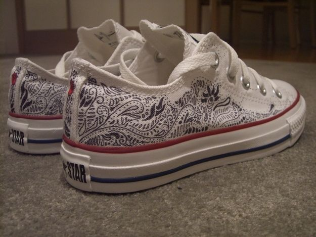 That pair of Converse you wouldn't stop drawing on.Heather Bystrzak