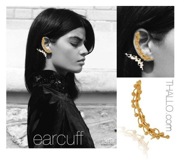 thallo.com earcuff by thallo on Polyvore