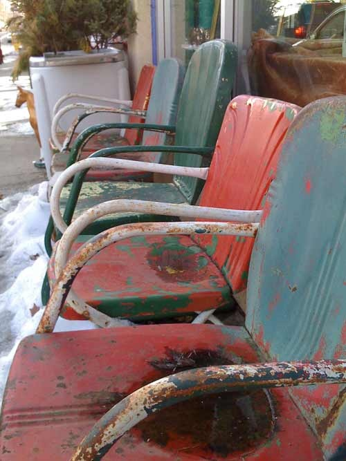 *motel chairs