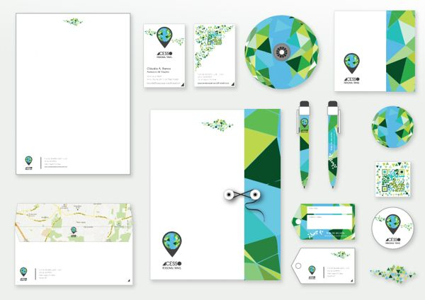 ACESSO Personal Travel Corporate Identity on Behance