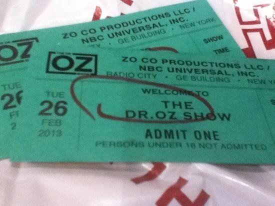 Dr Oz Tickets 2017 - Dr Oz Diet Recipes