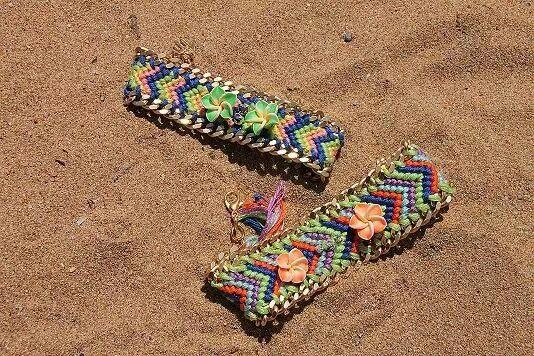Boho style bracelets!