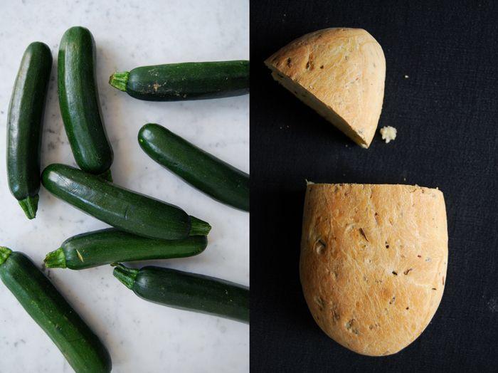 eat in my kitchen ° Savory Zucchini Bread