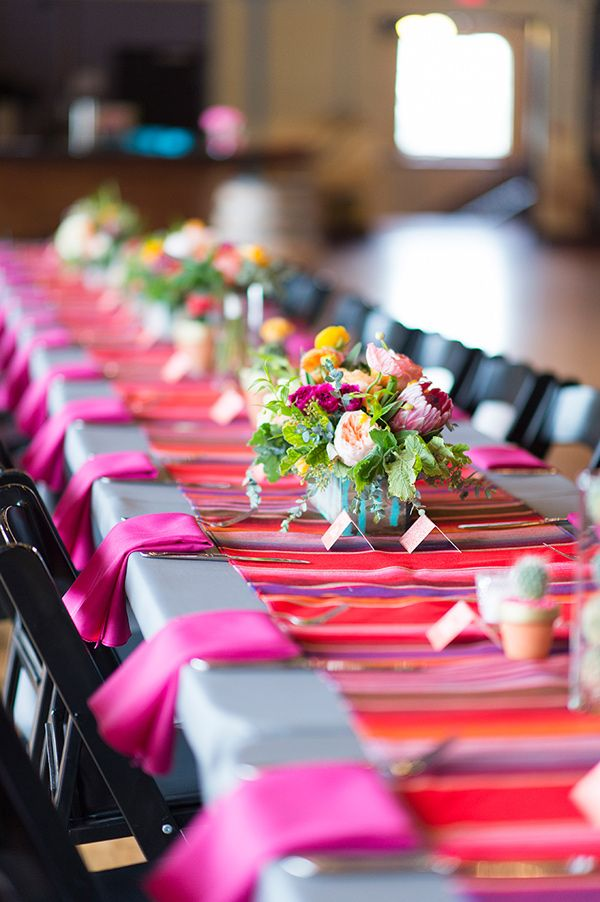 Mexican Themed Dinner Party Ideas Part - 27: Colorful Fiesta Wedding