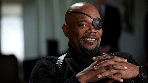 "Samuel L. Jackson as Mad Eye Moody. | Here's What An All Black ""Harry Potter"" Cast Would Look Like He would finally have two eyes again."