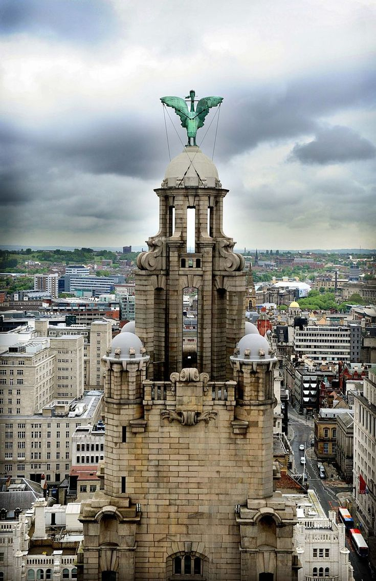 Hidden Liver Birds in Liverpool and where you can spot them - Liverpool Echo