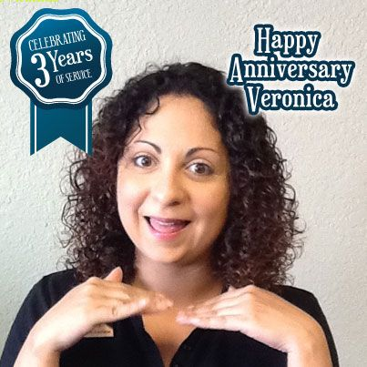 We would like to #congratulate Veronica for her three years of #service with Gems N' Loans. #Thankyou for your commitment. #HappyAnniversary