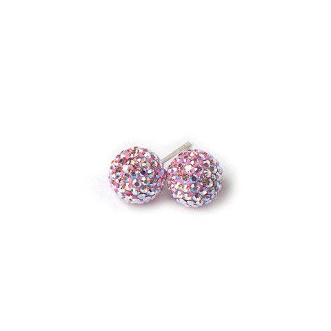 Light Pink Sparkle Earrings – Hillberg & Berk