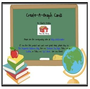 Create-A-Graph cards and video!  http://theorganizedclassroomblog.com/index.php/blog/classroom-tech-in-3-minutes-or-less