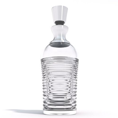 whisky decanter - waterford 3d model obj fbx blend 1
