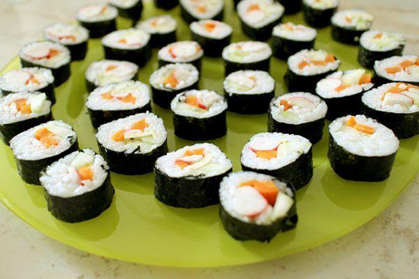 Reteta sushi testata si absolut delicioasa! #sushi #cumsefacesushi #sushireteta