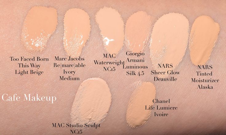 My Thoughts: Too Faced Born This Way Foundation - Café Makeup MAC-Waterweight-Foundation-15 συγκριτικά