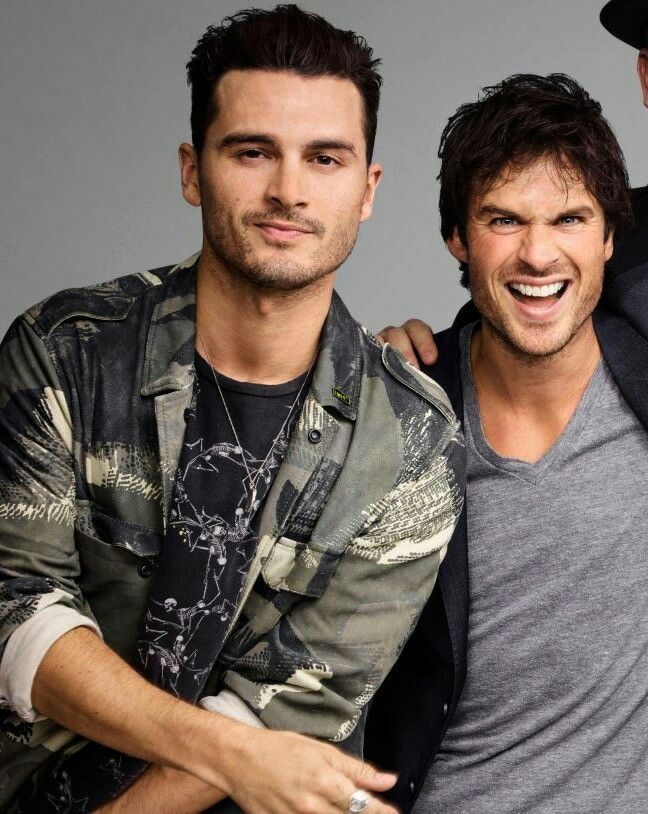 #TVD The Vampire Diaries Michael Malarkey(Enzo) & Ian ...