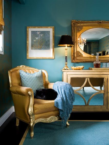 30 Best Gold And Teal Images On Pinterest Color Combinations