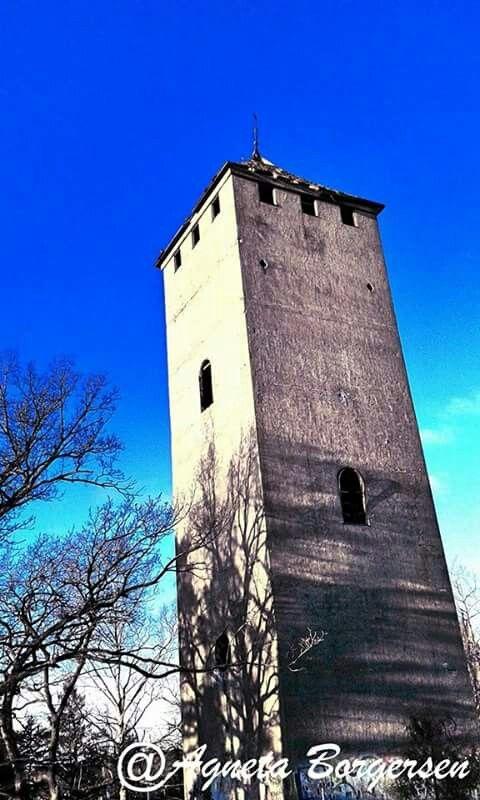 Watertower in Sundby Park, Strängnäs