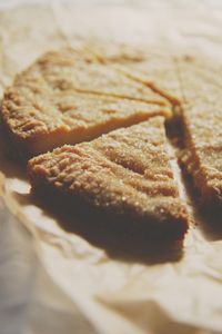 coconut oil short bread