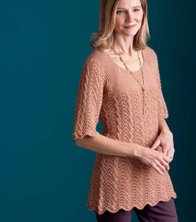 Tranquility Tunic Knitting Pattern - Patterns - Knitting