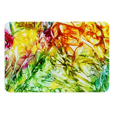 East Urban Home Kaleidoscope by Rosie Brown Bath Mat
