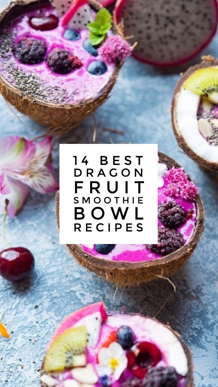 14 Best Dragon Fruit Smoothie Bowl Recipes | Chief Health