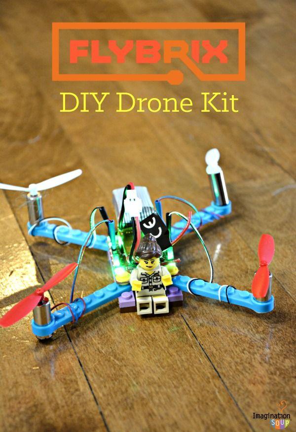 Flybrix DIY Drone Kit with LEGO bricks