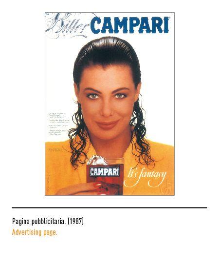 Marchio Campari - Pagina pubblicitaria 1987