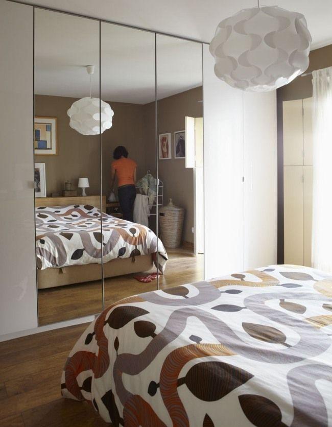 Popular kleines schlafzimmer ideen kleiderschrank kleiderschrank spiegelt ren