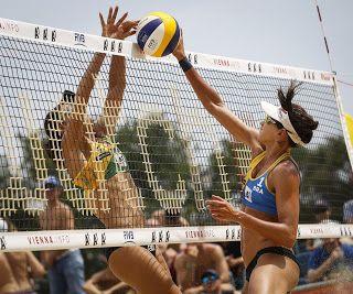 Blog Esportivo do Suíço:  Larissa/Talita bate Maria Elisa/Carol e avança à semifinal do Mundial